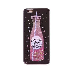coque OVERLAY LIQUID GLITTER Unicorn 004