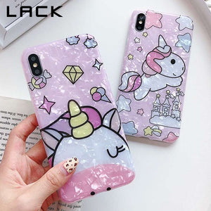 Candy Colors Unicorn Phone coque For