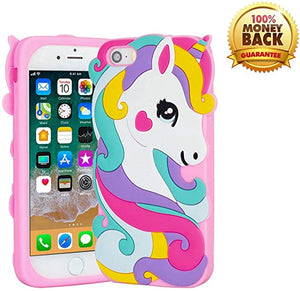 coque Horse Cute Cartoon Silicone Soft