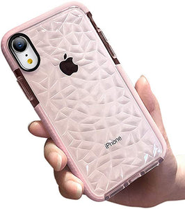 Crystal Pattern Clear iPhone coque