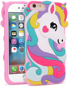 Cute Unicorn iPhone 6/6S Plus coque
