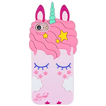 Cute unicorn coque for Apple Iphone 6