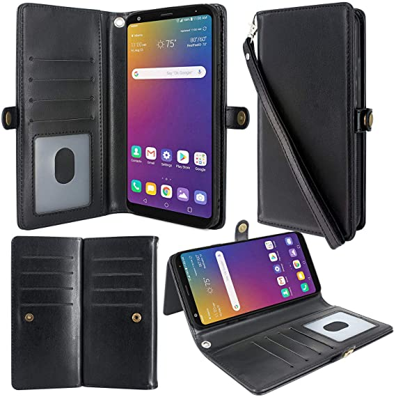 DETACHABLE LEATHER FLIP WALLET coque