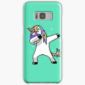 Dabbing Unicorn Samsung Galaxy S8 coque