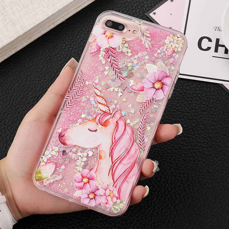 EKONEDA Cute Unicorn coque For IPhone 6