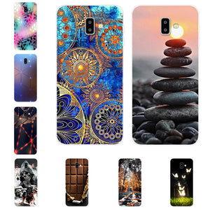 For Samsung J6 Plus coque J6+ TPU