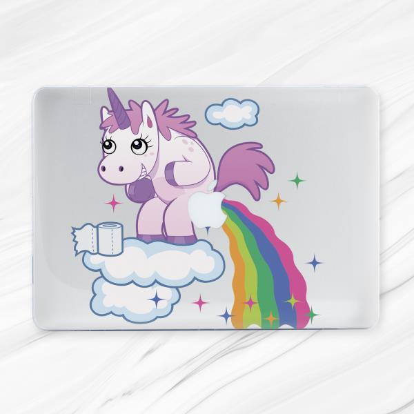 Funny Unicorn Rainbow Hard coque coque