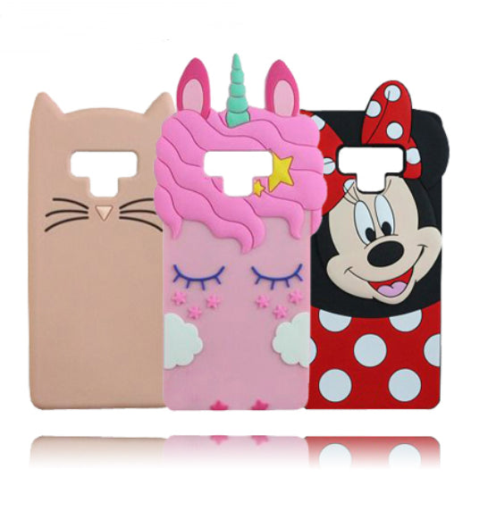Galaxy Note 9 Unicorn coque 3D Silicon