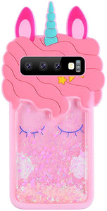Galaxy S10 Cartoon coque Cute Unicorn