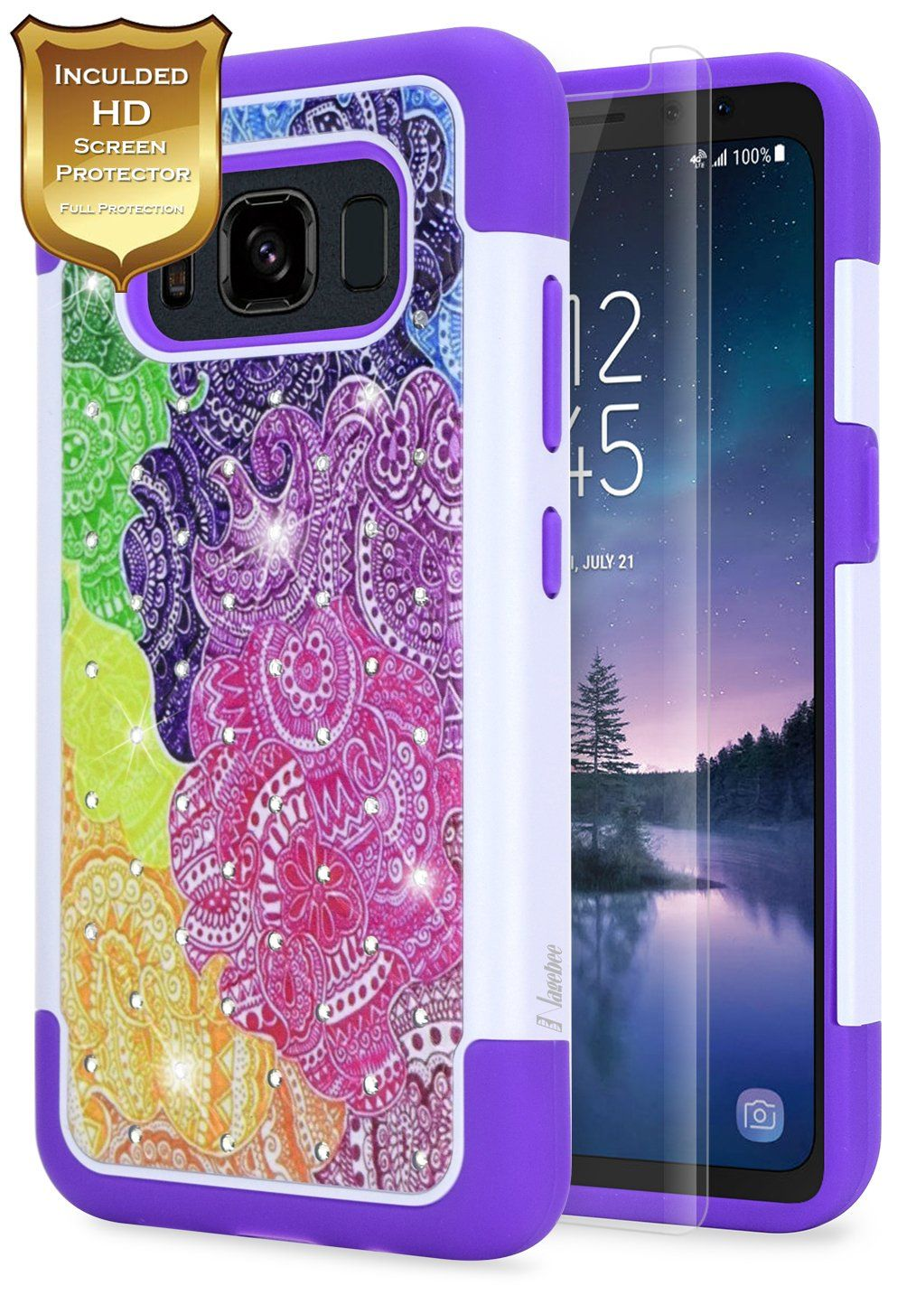 Galaxy S8 Active coqueRainbow Unicorn