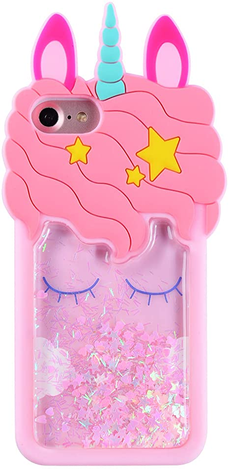Glitter 100% Unicorn coque Iphone 7
