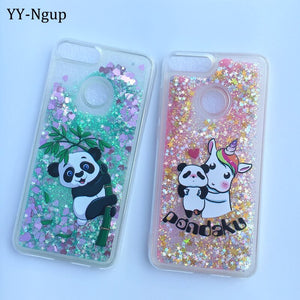 Glitter Unicorn Huawei Phone coque