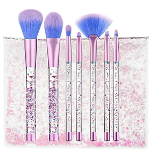 Glitter Unicorn Make-Up coque & Brushes