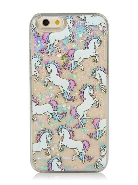 Glitter Unicorn iPhone 5/5S coque