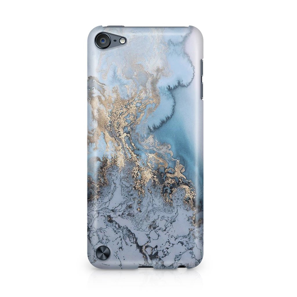 Golden Azure Marble iPod Touch 5 coque