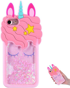 Hot Sale Pink Silicone Unicorn coques