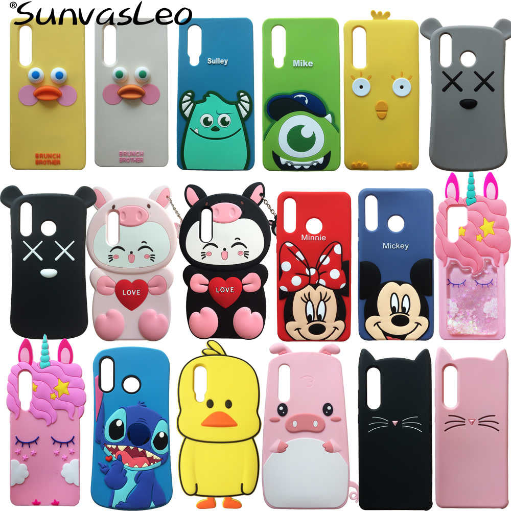 Huawei P30 Pro coques 3D cartoon Unicorn