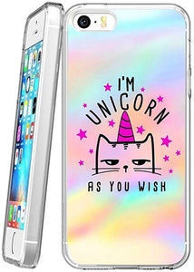 I'm a unicorn - pink Clear iPhone coque