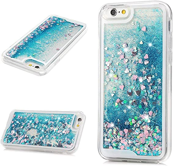 Iphone 6 6s Glitter Liquid coque
