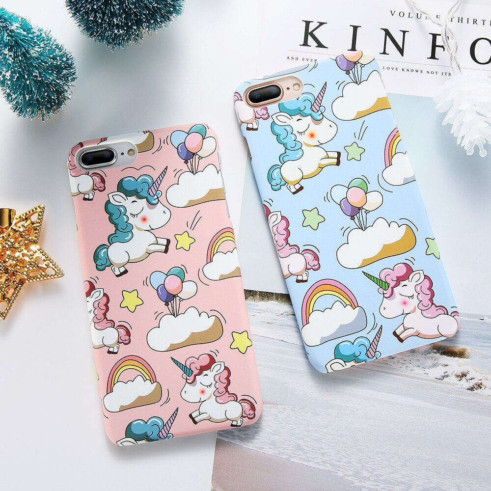 KISScoque Cute Unicorn Hard coque for
