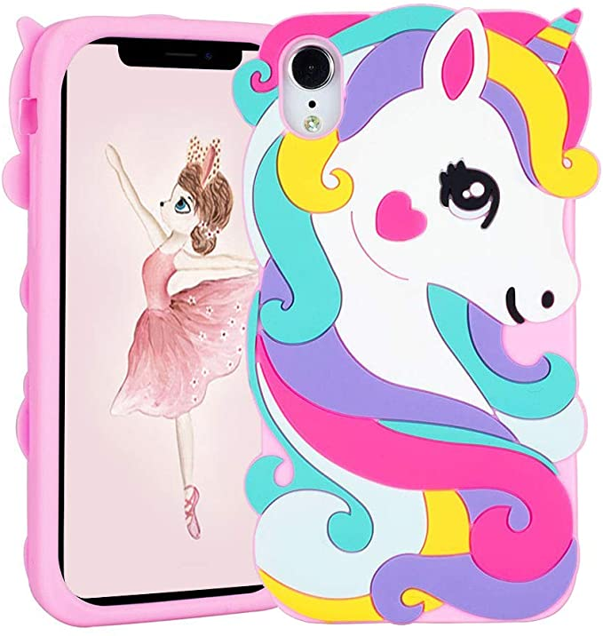 Liangxuer Vivid Unicorn coque for iPhone