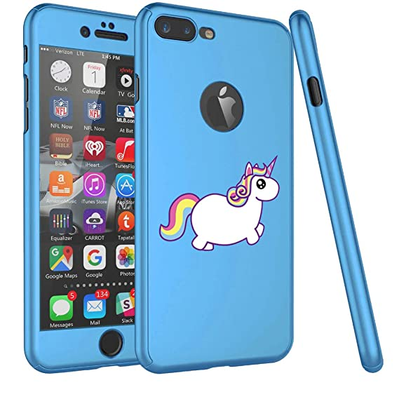 Light blue Unicorn iPhone coque by