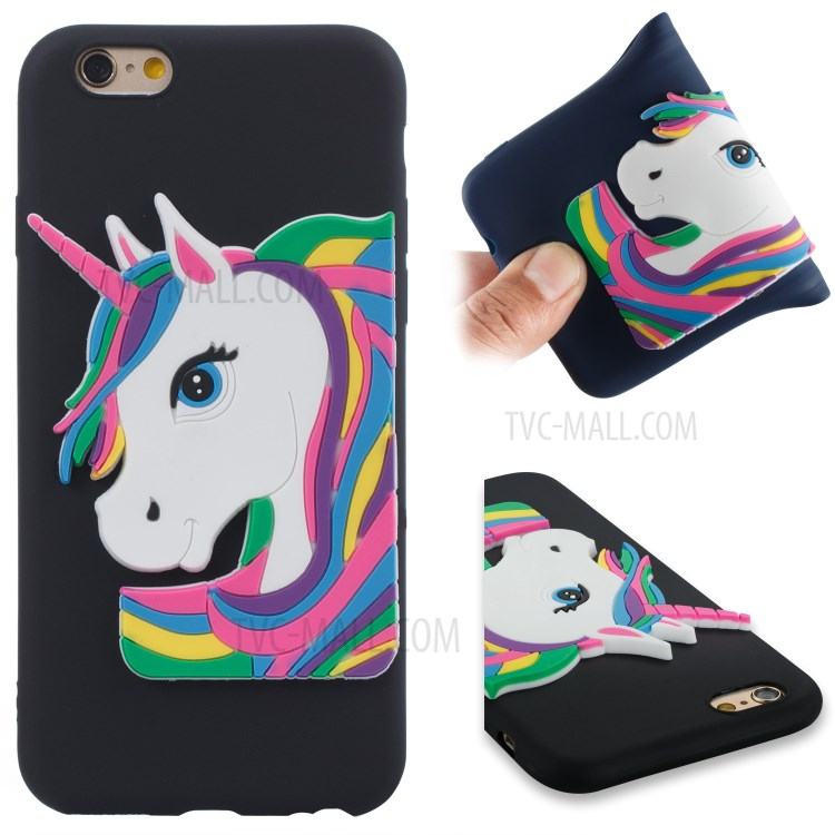 Lovely 3D Unicorn Pattern TPU coque for