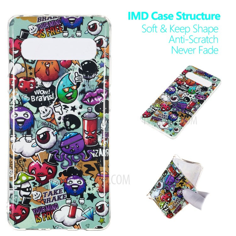 Luminous Patterned IMD TPU Back coque