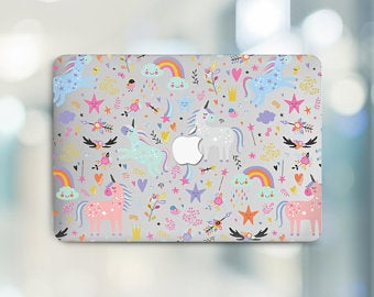 Macbook coque unicorn  Etsy