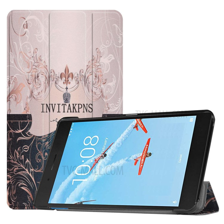 Pattern Printing PU Leather Tablet coque