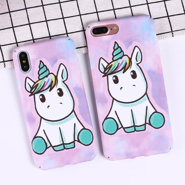 Rainbow Unicorn Capa Phone coques