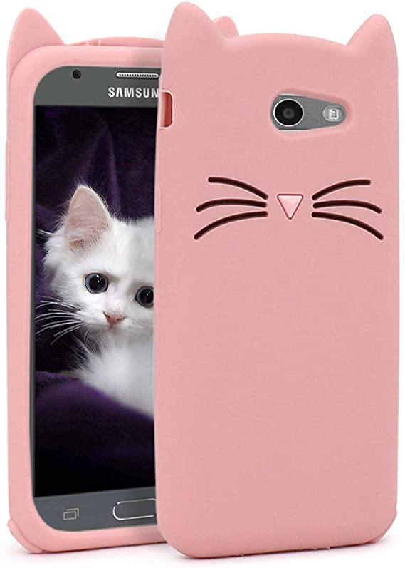 Samsung Galaxy J3 coque 3D Pink Cartoon