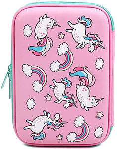 School Cute Unicorn Pencil coque Pen Bag