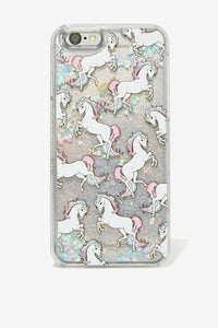 Skinnydip Glitter Unicorn iPhone 6 coque