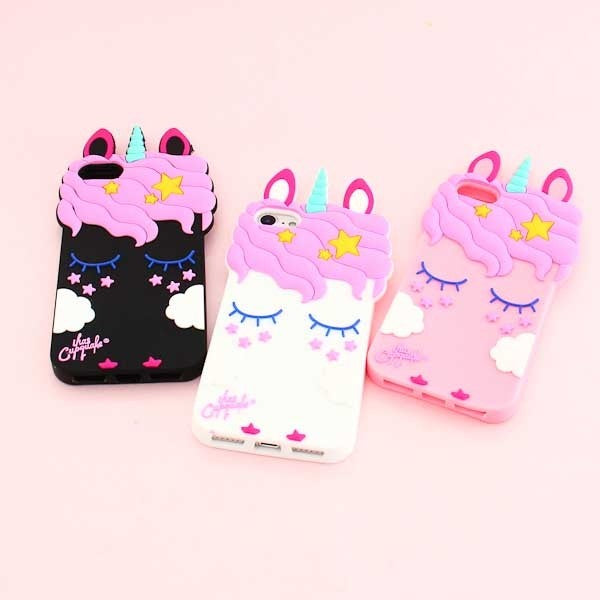 Sleeping Unicorn Silicon coque for