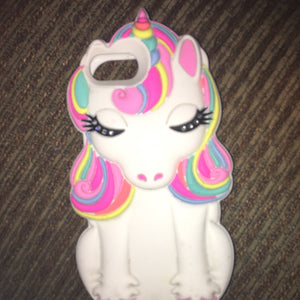 Super cute unicorn coque from Claire's