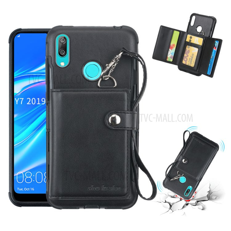 TPU+PC+PU Leather Coated Phone coque