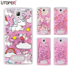 UTOPER Liquid Glitter Unicorn coque For