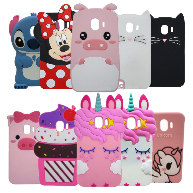 Unicorn coque For Samsung Galaxy J4 J6