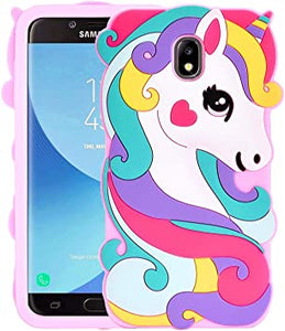 Unicorn coque for Samsung GALAXY J3 2018