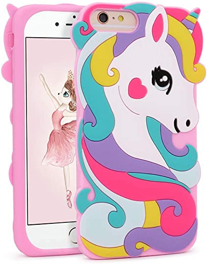 Unicorn coque for iPhone 7 Plus 8 Plus