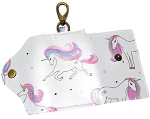 Unicorn Horse Wallet Leather coque For