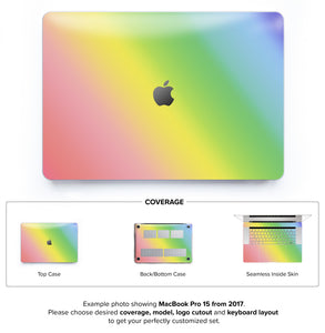 Unicorn Ombre Hard coque for MacBook Pro