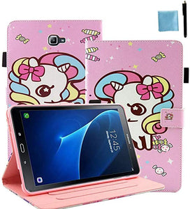 Unicorn Rainbow coque coque For Samsung
