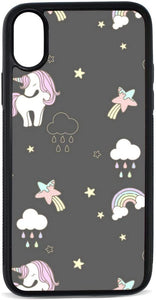 Unicorn Rainbow Magic Clear TPU coque
