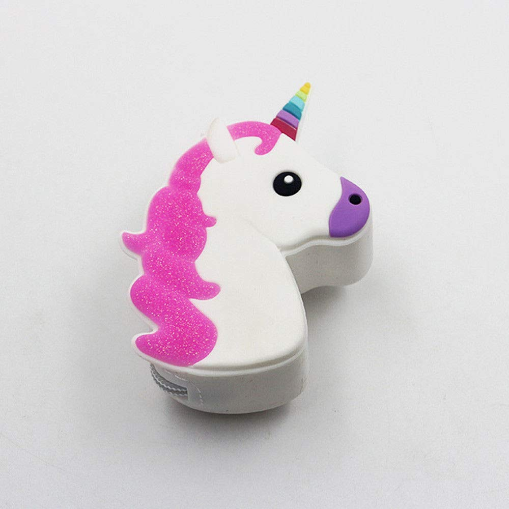 Unicorn Silicone Earphone Coins coque