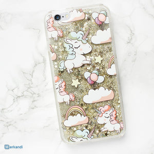 Unicorn coque liquid brocade iPhone 5