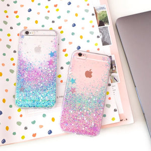 Unicorn glitter coque  Etsy