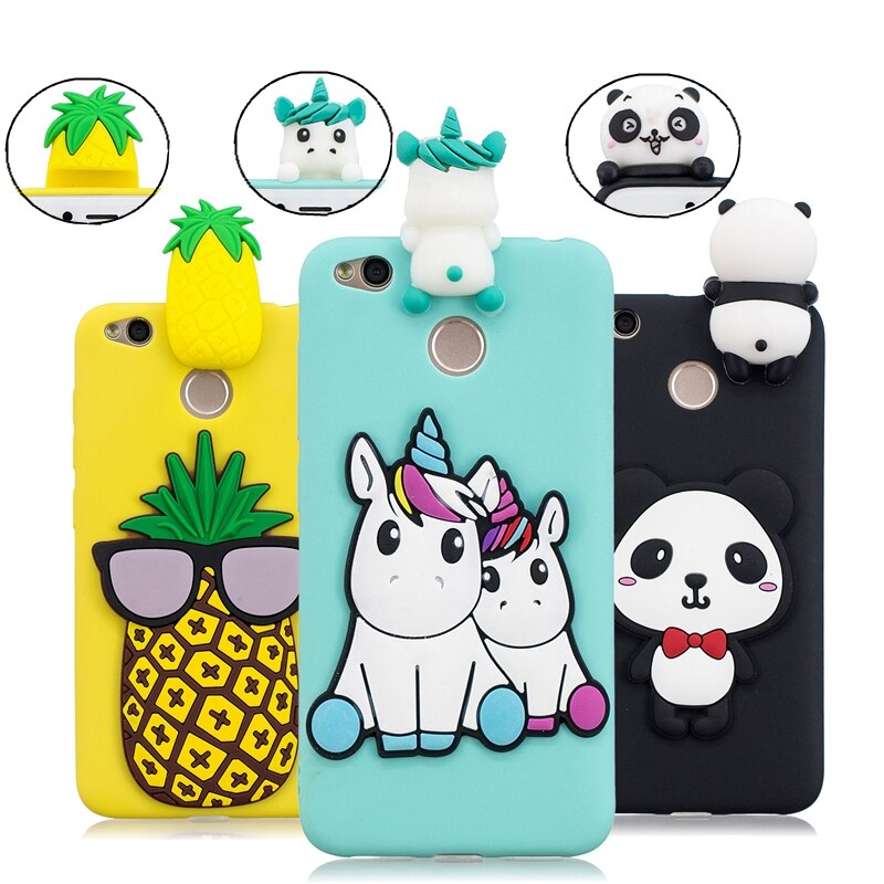 Xiaomi Redmi 4X coque coque Cartoon 3D