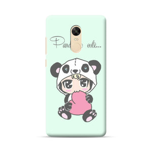 Xiaomi Redmi Note 4 coque Cute Panda